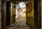 Underground bunker from cold war — Foto Stock