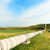 High pressure pipeline — Stock Photo
