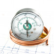 Pressure measure tools — Stock Photo