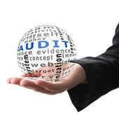 Concept of audit in business — Stock Photo