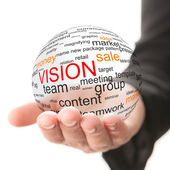 Concept of vision in business — Stock Photo