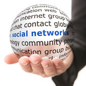 Concept of social network — Stock Photo