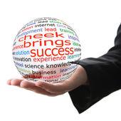 Koncept úspěchu v podnikání — Stock fotografie