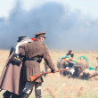 Historical reenactment of the Crimean War — Stock Photo