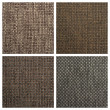 Set from four textile backgrounds — Foto Stock