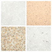 Set of Stone backgrounds — Stock Photo