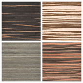 Set of four wooden texture backgrounds — Stockfoto