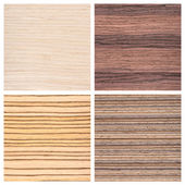 Set of four wooden texture backgrounds — Zdjęcie stockowe