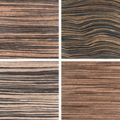 Set of four wooden texture backgrounds — Stock fotografie