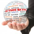 Outsourcing concept — Stock Photo #48324879