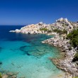 Beach Sardinia Capo Testa — Stock Photo