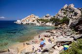 Beach Sardinia Capo Testa — Stock Photo