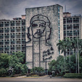 Che Guevara picture at Plaza de la Revolucion — Stock Photo