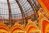 Dome of Gallery Lafayette — Stock Photo
