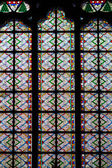 Mosaic window of cathedral of Notre Dame — Foto de Stock