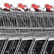 Shopping carts — Stock Photo #17927159