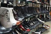 Women's shop shoes — Stock Photo