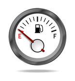 Fuel indicator — Stock Vector
