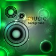 Abstract music background. Vector illustration - Stock Vector