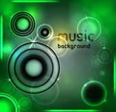 Abstract music background. Vector illustration — Stock Vector