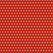 Abstract red metal background with holes, texture, grill. Seamless pattern — Stock Vector #32037577