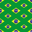 Seamless pattern with Brazil flags — Stock Vector #38623261