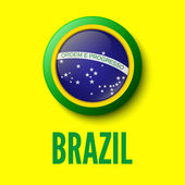 Brazil. Background for your presentations — Cтоковый вектор
