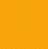 Seamless geometric pattern with honeycombs — Stock Vector