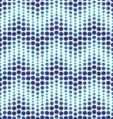 Blue geometrical circle pattern — Stock Vector
