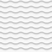 Seamless wave pattern. Vector illustration — Stock Vector