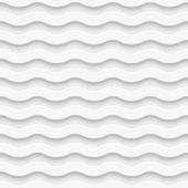 Seamless wave pattern. Vector illustration — Stock Vector