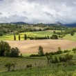 Tuscan countryside in spring — Stock Photo