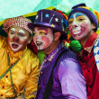 Young street clowns — Stock Photo #13304017