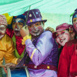 Young street clowns — Stock Photo #13304130