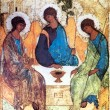 Stock Photo: Icon of Holy Trinity