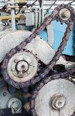 Eski sanayi dişli — Stok fotoğraf