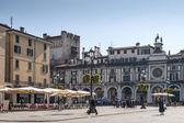 Piazza della Loggia (Loggia square) — Stockfoto