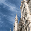 Duomo, the cathedral in Milan - Stock Photo