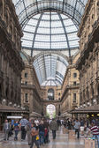 Shopping and fashion gallery in Milan — Stock Photo