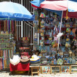 Stock Photo: Market stall of souvenirs