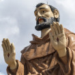 Stock Photo: Monument to Saint Francis