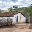 Mud house in Brazil — Stock Photo