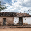 Mud house in Brazil - Stock Photo