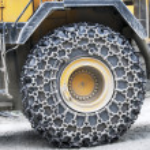 Buldozer wheel — Stock Photo #23799419