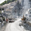 Stock Photo: Granite quarry
