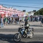 Brezilya'nın bağımsızlığını gün popüler protesto — Stok fotoğraf