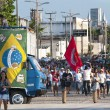 Stock Photo: Popular protest on day of Independence of Brazil