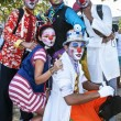 Young street clowns — Stock Photo #32205147