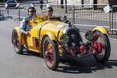 Old car in the Mille Miglia race — Foto de Stock