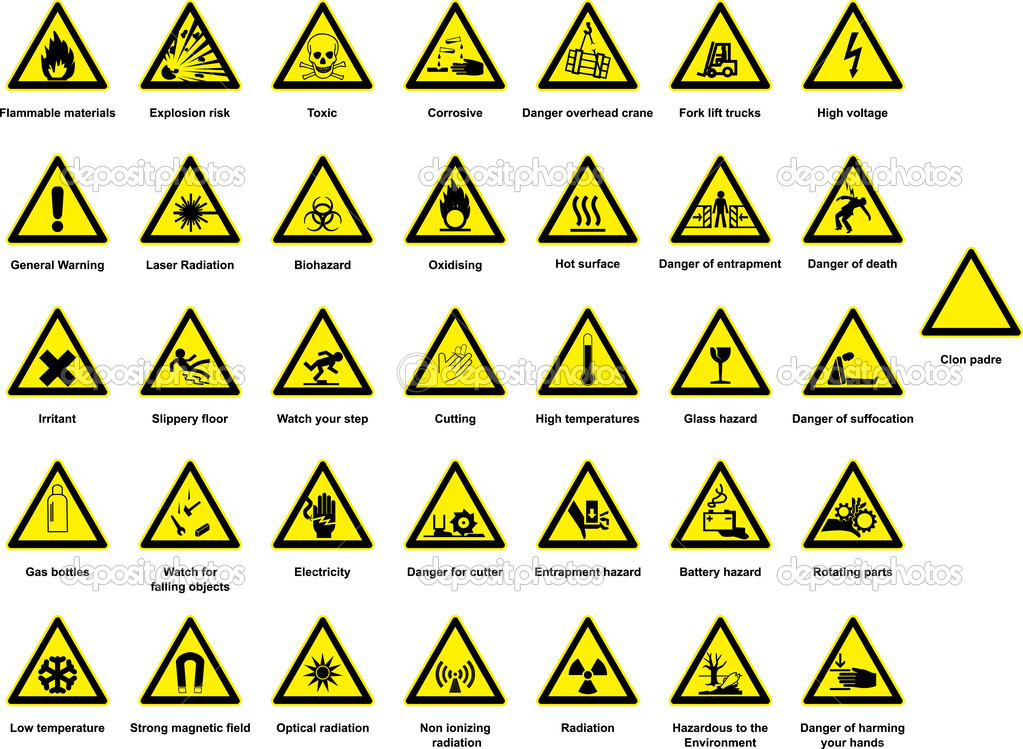 Warning Signs And Symbols And Meanings Images Free Download